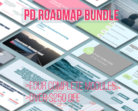 PD Roadmap Bundle - Includes Four Complete Modules