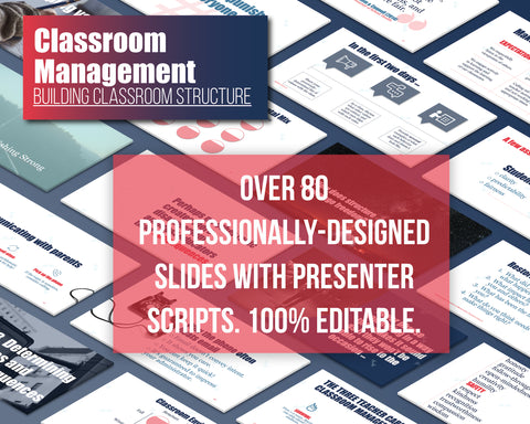 Classroom Management: Building Classroom Structure
