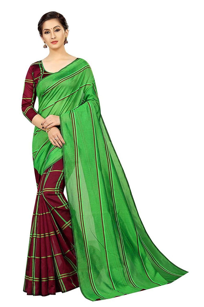 PF-157-1 Cotton Silk Saree
