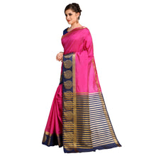 Load image into Gallery viewer, 4FE11301 Cotton Silk  SAREE With Blouse Piece