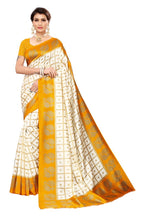 Load image into Gallery viewer, PF-151 Printed Art Silk Saree with Blouse Piece