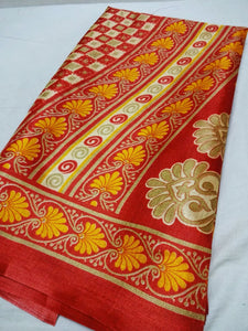 Bhagalouri Khadi Silk Saree