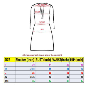 4FE122Queen1001 embroidery mirror work gown-XL SIZE