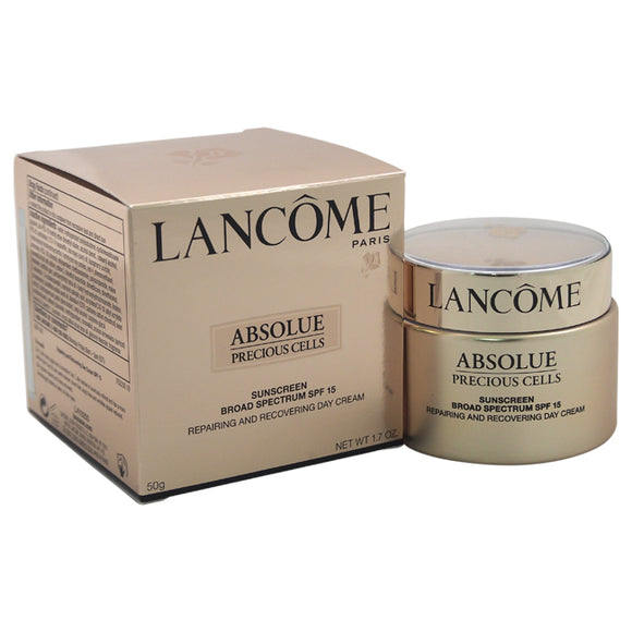 Absolue Precious Cells Advanced Regenerating and Repairing Care SPF 15 by Lancome for Unisex - 1.7 oz Pack of 3