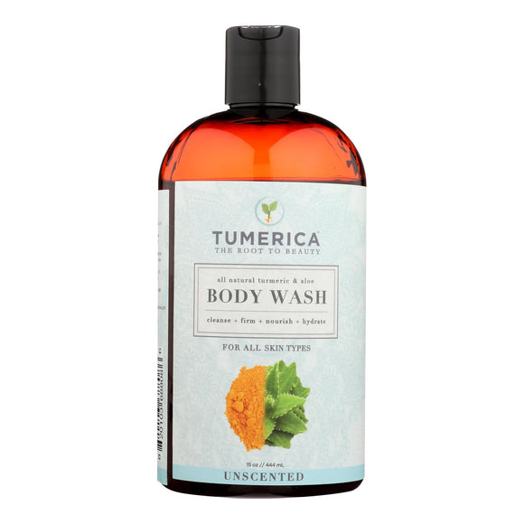 Tumerica Body Wash - Unscented - 15 oz Pack of 3