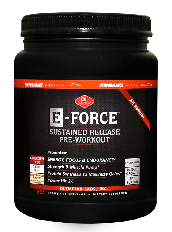 Olympian Labs E-Force - Performance Sports Nutrition - 525 g Pack of 3