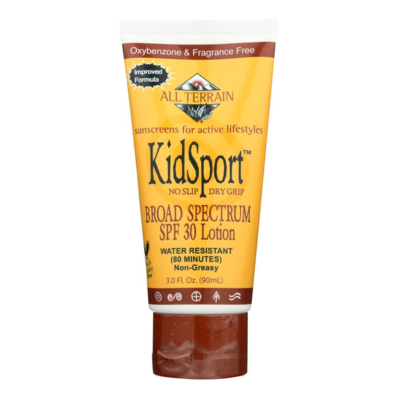 All Terrain - Kid Sport Performance Sunscreen SPF 30 - 3 fl oz Pack of 3