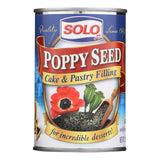 Solo Poppy Seed, Cake & Pastry Filling - Case of 6 - 12.5 OZ