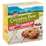 Cascadian Farm - Soft Baked Squares - Oats and Chocolate - Case of 8 - 6/1.24oz.