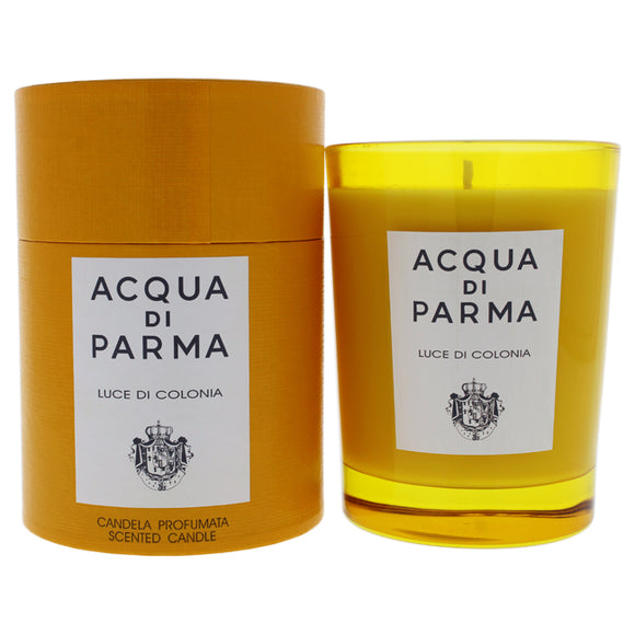 Luce Di Colonia Scented Candle by Acqua Di Parma for Unisex - 7.05 oz Candle Pack of 3