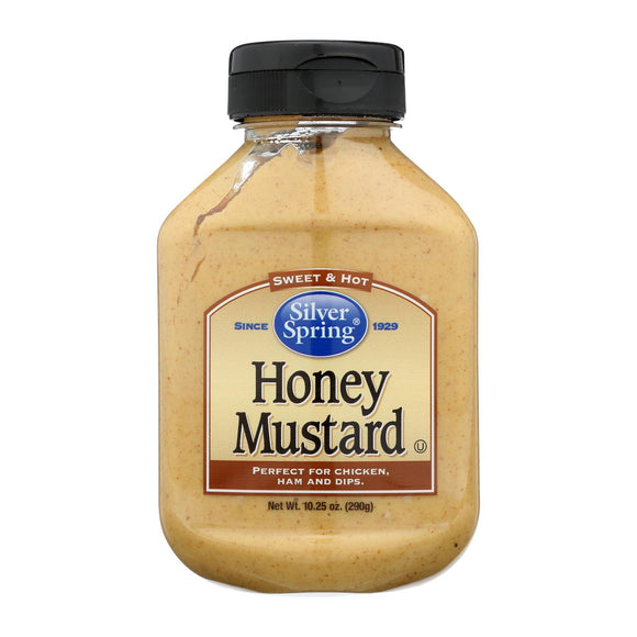 Silver Spring Squeeze - Mustard - Honey - Case of 9 - 10.25 oz