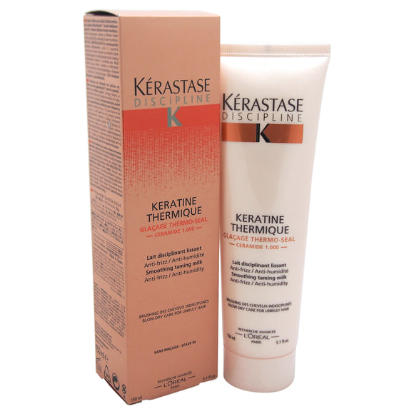 Discipline Keratine Thermique by Kerastase for Unisex - 5.1 oz  Treatment Pack of 3