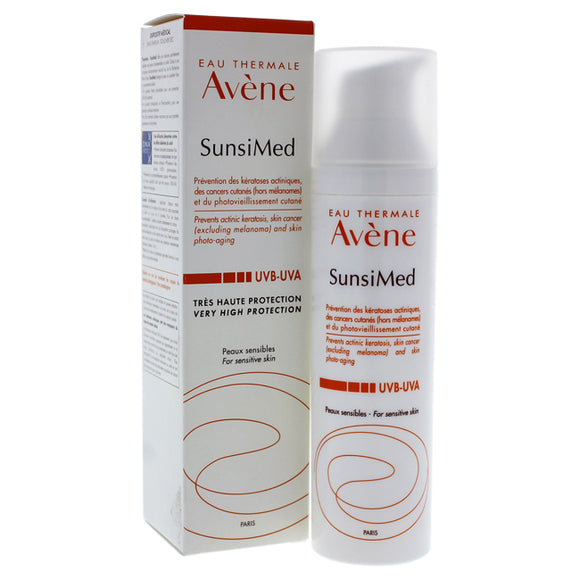 Solaire Sunsimed Very High Protection SPF 50 by Avene for Unisex - 2.7 oz Sunscreen Pack of 3