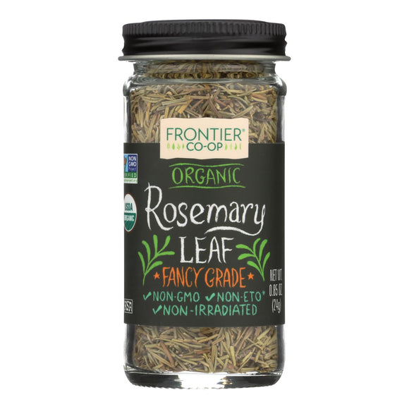 Frontier Herb Rosemary Leaf - Organic - Whole - .85 oz Pack of 3