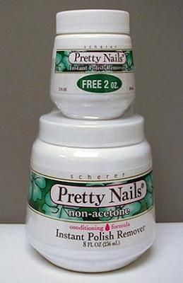 Pty Nail Jar 8Oz Non-Acetone    Pack of 12