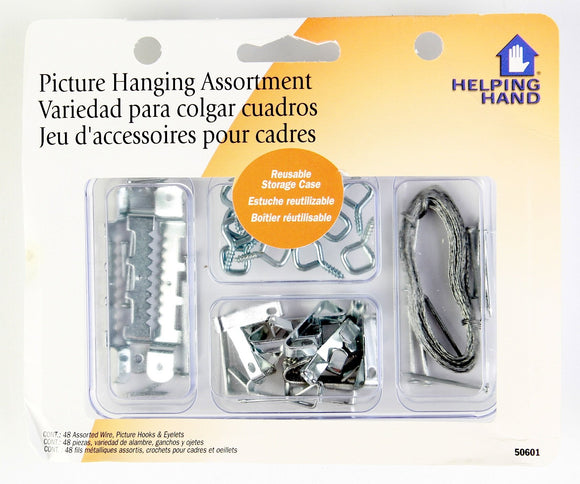 Picture Hanging Kit Large Pack of 3