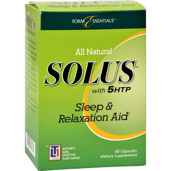 Solus With 5HTP and Melatonin - 60 Capsules Pack of 3