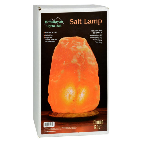 Himalayan Salt Lamp 12 inch Wood Base Pack of 3