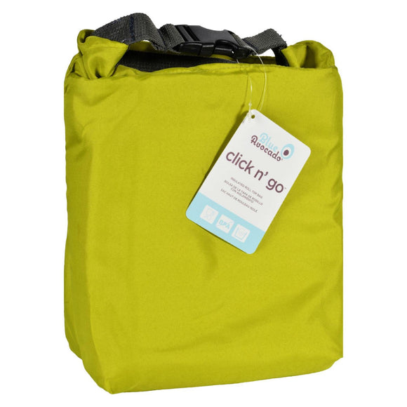 Blue Avocado - Bag - Click N Go - Green - 1 Count Pack of 3