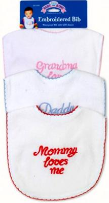 Baby Bib Pack of 3