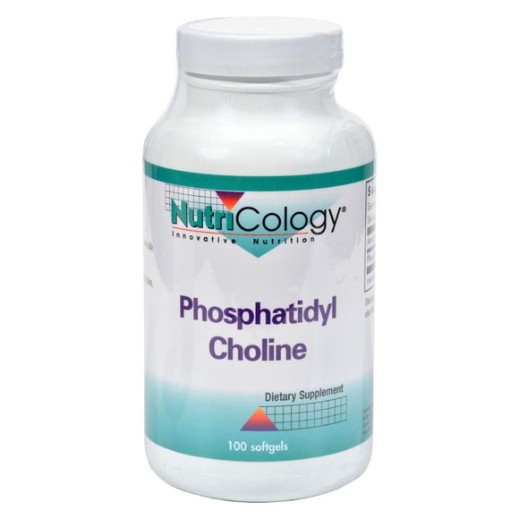 Nutricology Phosphatidyl Choline - 100 Softgels Pack of 3