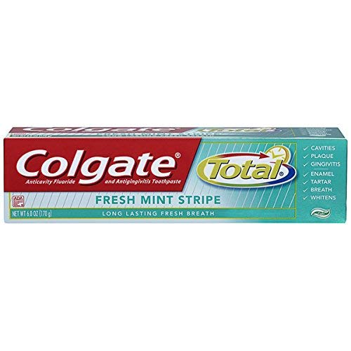 Colgate Total Fresh Strpe 6.0Z Pack of 3