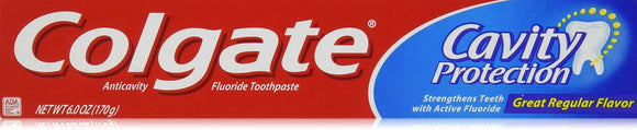 Colgate Tp Anticavty Pst Tp 6Z Pack of 4