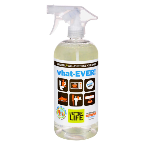 Better Life WhatEVER All Purpose Cleaner - Unscented - 32 fl oz Pack of 3