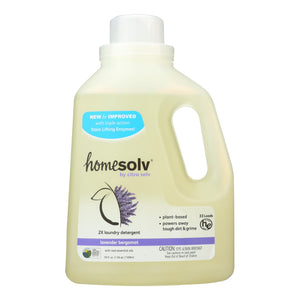 Citra-Solv Natural Laundry Detergent 2X Concentrate Liquid - Lavender Bergamot - Case of 6 - 50 Fl oz.