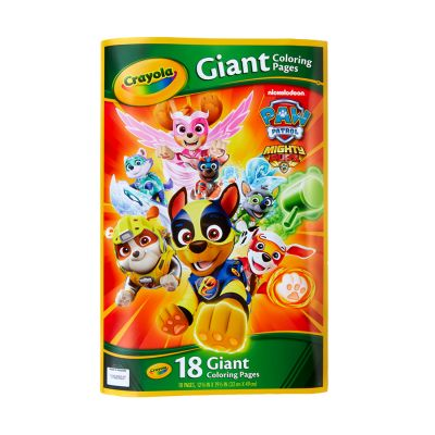 Crayola Paw Patrol Gnt Clr Pages Pack of 6