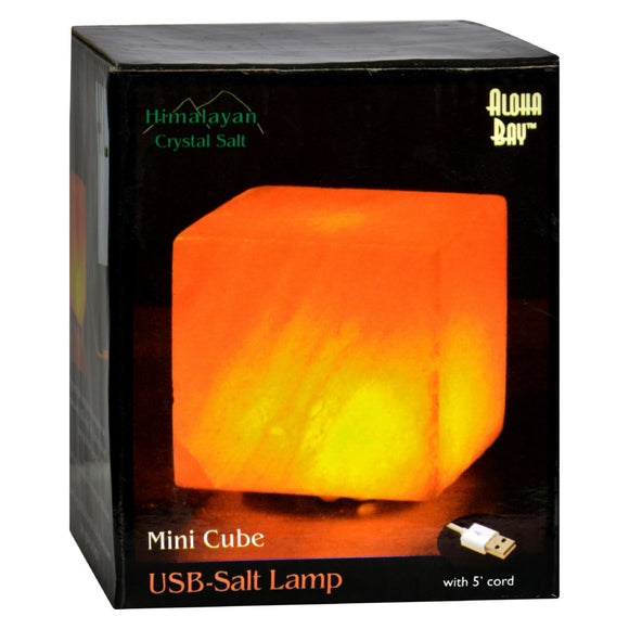 Himalayan Salt Cube Salt Lamp - USB - 3 in Pack of 3