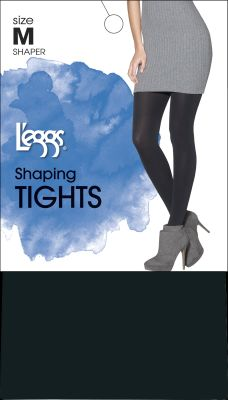 Leggs Shape Tights Black B Pack of 3