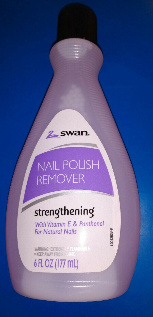 Swan Nail Polish Remover Regular 6 Fl Oz           Pack of 24