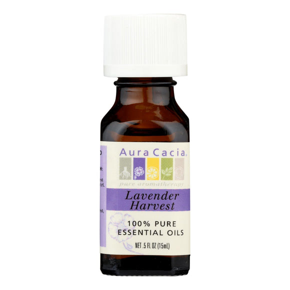 Aura Cacia - Pure Essential Oil Lavender Harvest - 0.5 fl oz Pack of 3