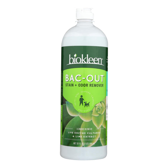 Biokleen Bac-Out Stain and Odor Remover - 32 fl oz Pack of 3