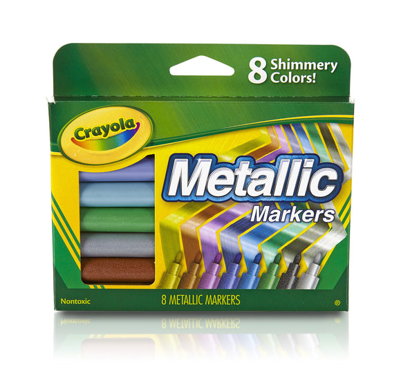 Markers Metallic 8Ct Pack of 3
