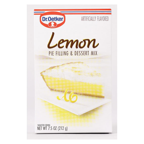 Dr. Oetker Organics Lemon Pie Filling and Dessert Mix - 7.5 oz. Pack of 3