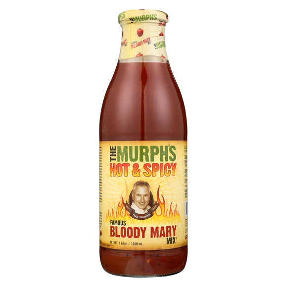 The Murphs Mix - Bloody Mary - Hot and Spicy - Case of 6 - 33.8 fl oz