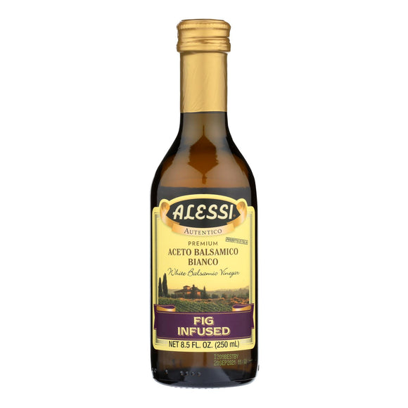 Alessi - Fig Infused Vinegar - White Balsamic - Case of 6 - 8.5 FL oz.