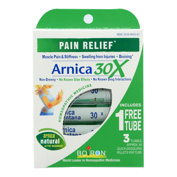 Boiron - Arnicare 30x Pain Relief Tube - 3 Count Pack of 3
