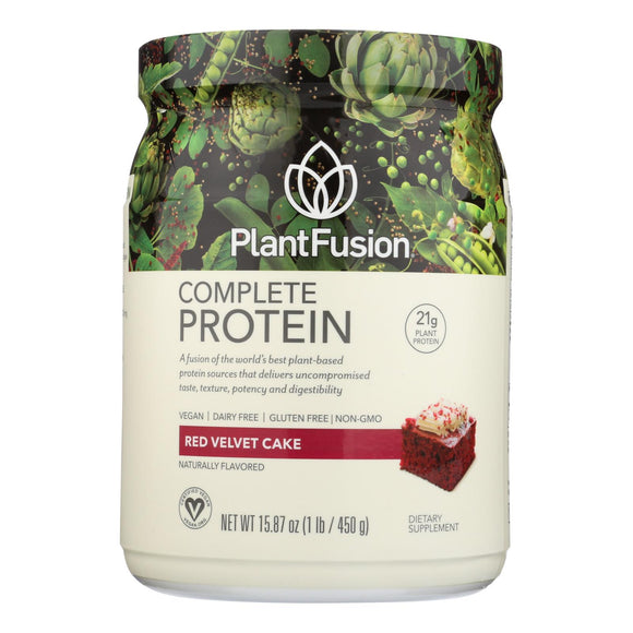 Plantfusion - Complete Protein - Chocolate Raspberry - 1 Lb. Pack of 3