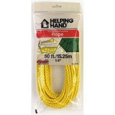 Rope Yellow Poly 50 Ft Pack of 3