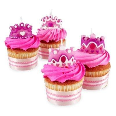 Candles Princess 4Pc Pack of 3