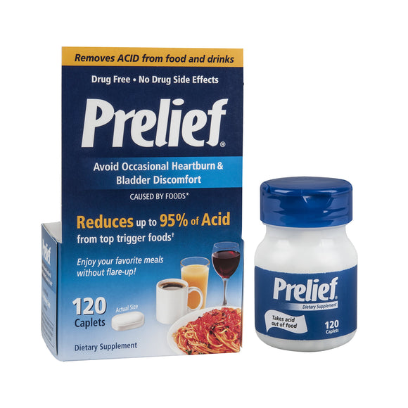 Prelief Dietary Supplement - 120 Capsules Pack of 3