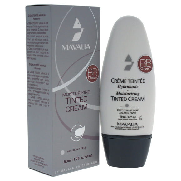 BB Cream Moisturizing Tinted - # 06 Beige Ambre by Mavala for Women - 1.75 oz Makeup Pack of 3