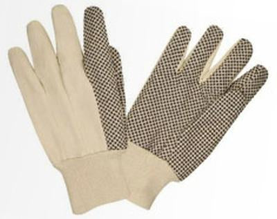 Glove 8Oz Canvas Dot Palm Pack of 6