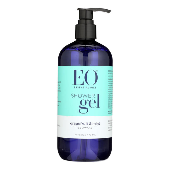 EO Products - Shower Gel - Grapefruit and Mint - 16 fl oz Pack of 3