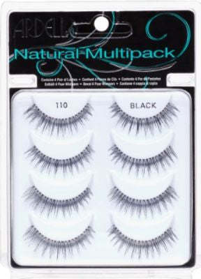 Ardell Lashes #110 5 Pair Pack of 4