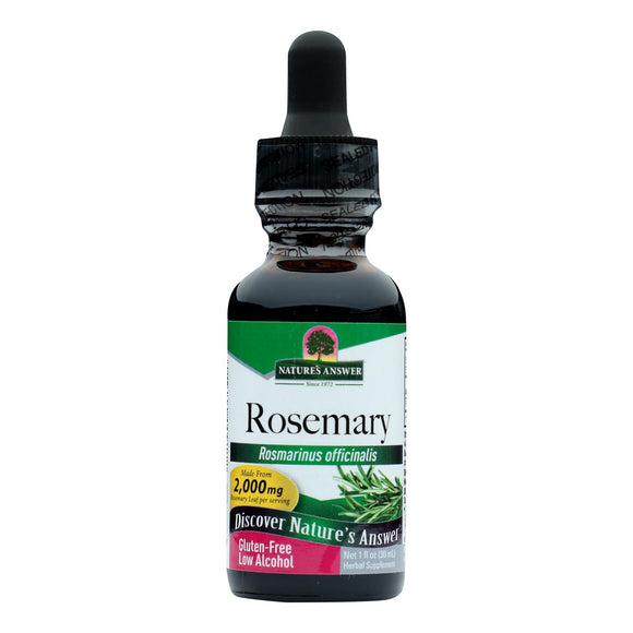 Nature's Answer - Rosemary Leaf - 1 fl oz Pack of 3