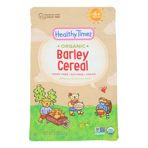 Healthy Times - Cereal Baby Whole Grain Barley - Case of 6 - 5 OZ